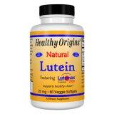Healthy Origins, Luteina 20 mg, 60 kapsułek - miniaturka zdjęcia produktu