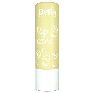 Delia Lip Care, pomadka ochronna do ust, żółta, 4,9 g - zdjęcie produktu