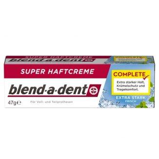 Blend-a-dent Complete, klej do protez, Extra Stark Fresh, 47 g - zdjęcie produktu