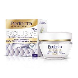Perfecta Exclusive, nutri-ujędrniający krem przeciwzmarszczkowy na dzień i noc 70+, 50 ml - zdjęcie produktu