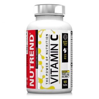 Nutrend, Vitamin C, 100 tabletek - zdjęcie produktu