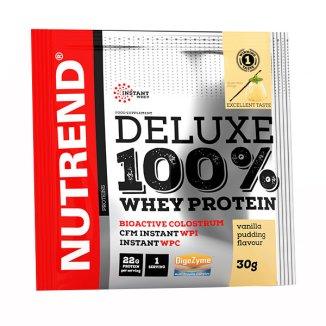 Nutrend, Deluxe 100% Whey Protein, smak puddingu waniliowego, 30 g - zdjęcie produktu