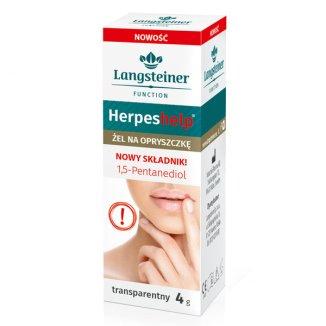 Herpes Help, żel na opryszczkę, transparentny, 4 g - zdjęcie produktu