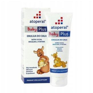 Atoperal Baby Plus, emulsja do ciała, 200 ml - zdjęcie produktu
