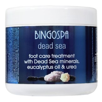 Bingospa, hydromineralny zabieg do stóp z glinką Ghassoul, suchość i łuszczenie się stóp, 600 g - zdjęcie produktu