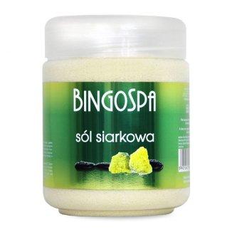 Bingospa, sól siarkowa, 550 g - zdjęcie produktu
