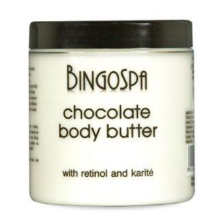 Bingospa, masło czekoladowe z karite do ciała, 250 g - zdjęcie produktu