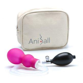 Aniball, balonik do ćwiczeń dna miednicy, ciemny róż, 1 sztuka - zdjęcie produktu