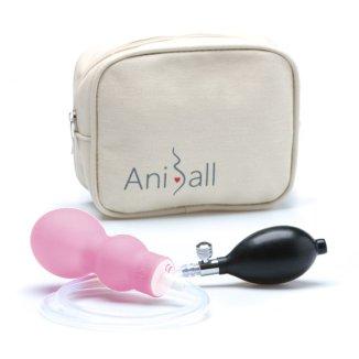 Aniball, balonik do ćwiczeń dna miednicy, jasny róż - zdjęcie produktu