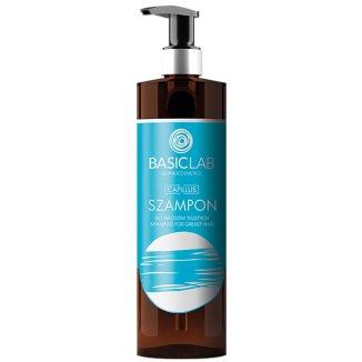 BasicLab Capillus, szampon do włosów tłustych, 300 ml - zdjęcie produktu