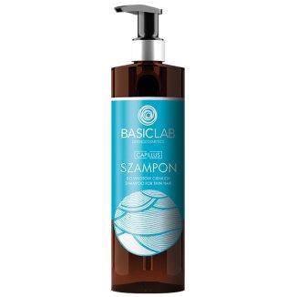 BasicLab Capillus, szampon do włosów cienkich, 300 ml - zdjęcie produktu