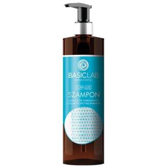 BasicLab Capillus, szampon do włosów farbowanych, 300 ml - zdjęcie produktu