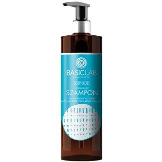 BasicLab Capillus, stymulujący szampon przeciw wypadaniu włosów, 300 ml - zdjęcie produktu