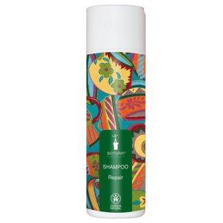 Bioturm, szampon regenerujacy do włosów zniszczonych i słomianych, z kwiatem lipy i owsem 200 ml - zdjęcie produktu