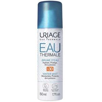 Uriage Eau Thermale, nawilżająco-ochronna mgiełka, skóra odwodniona, SPF 30, 50 ml - zdjęcie produktu