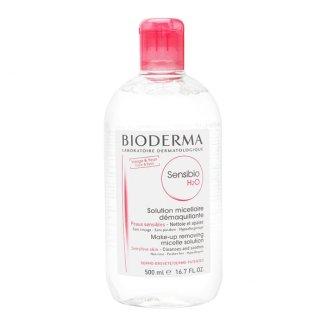 Bioderma Sensibio H2O, płyn micelarny do skóry wrażliwej, 500 ml - zdjęcie produktu