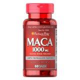 Puritans Pride Maca 1000 mg, 60 kapsułek - miniaturka zdjęcia produktu