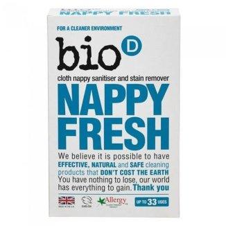 Bio-D Nappy Fresh, dodatek do proszku do prania pieluch, 500 g - zdjęcie produktu