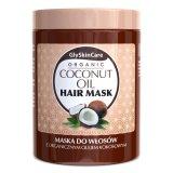 GlySkinCare, maska do włosów z olejem kokosowym (nowa formuła), 300 ml - miniaturka zdjęcia produktu