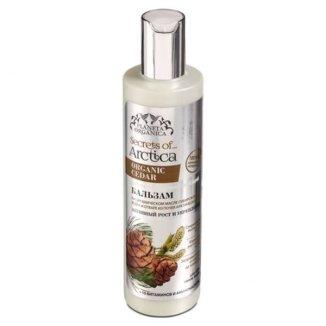 Planeta Organica Secrets Of Arctica, balsam do włosów, stymulacja wzrostu i wzmocnienie, 280 ml - zdjęcie produktu