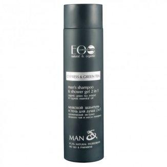 EO LABORATORIE MAN, szampon i żel pod prysznic 2w1, dla mężczyzn, 250 ml - zdjęcie produktu