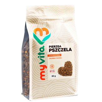 MyVita Pierzga, chlebek pszczeli, 80 g - zdjęcie produktu