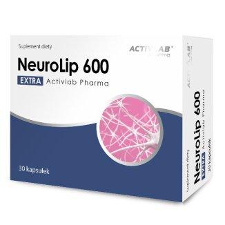 Activlab Pharma NeuroLip Extra 600, 30 kapsułek - zdjęcie produktu