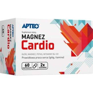 Apteo Magnez Cardio, 60 kapsułek - zdjęcie produktu