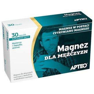 Apteo Magnez dla mężczyzn, 30 kapsułek - zdjęcie produktu