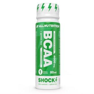 Allnutrition, BCAA + Green Tea, Shock Shot, 80 ml - zdjęcie produktu