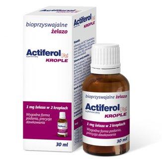 Actiferol Fe, krople, 30 ml - zdjęcie produktu