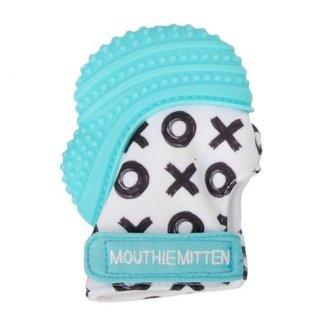 Mouthie Mitten, gryzak-rękawiczka, niebieski, 1 sztuka - zdjęcie produktu