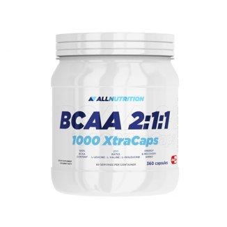 Allnutrition BCAA 2:1:1 1000 XtraCaps, 360 kapsułek - zdjęcie produktu