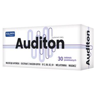 Auditon, 30 tabletek powlekanych - zdjęcie produktu