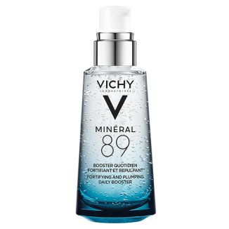 Vichy Mineral 89, booster wzmacniająco-nawilżający z kwasem hialuronowym, 50 ml - zdjęcie produktu