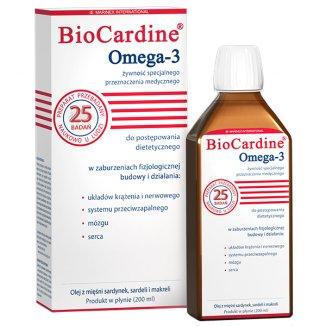 BioCardine Omega-3, 200 ml - zdjęcie produktu