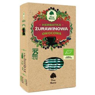 Dary Natury Herbatka żurawinowa, ekologiczna, 2,5 g x 25 saszetek - zdjęcie produktu