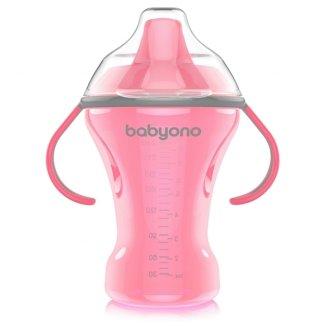 BabyOno, kubek niekapek z twardym ustnikiem i uchwytami, od 6 miesiąca, 260 ml - zdjęcie produktu