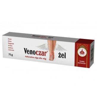 Bonifraterski Venoczar, naturalna ulga dla nóg, żel, 75 g - zdjęcie produktu