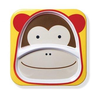Skip Hop, talerz Zoo Małpa, od 6 miesiąca, 1 sztuka - zdjęcie produktu