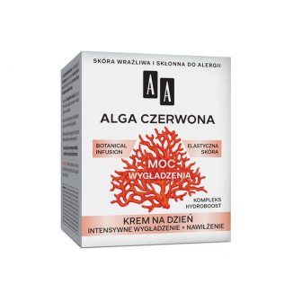 AA Moc Roślin, Alga Czerwona, krem do twarzy 40 +, na dzień, 50 ml - zdjęcie produktu