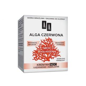 AA Moc Roślin, Alga Czerwona, krem do twarzy 40 +, na noc, 50 ml - zdjęcie produktu