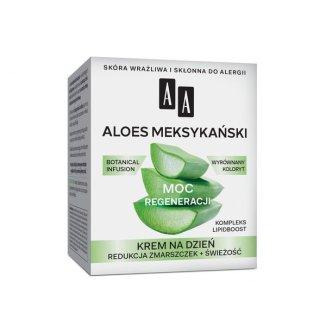 AA Moc Roślin, Aloes Meksykański, krem do twarzy 50 +, na dzień, 50 ml - zdjęcie produktu