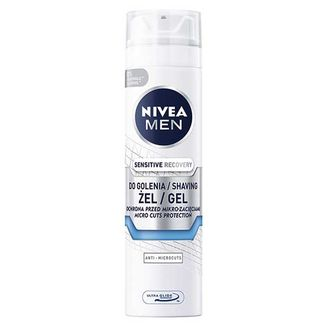 Nivea Men Sensitive Recovery, regenerujący żel do golenia, 200 ml - zdjęcie produktu