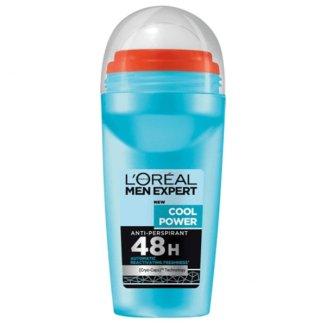 L'Oreal Men Expert, Cool Power, antyperspirant roll-on, 50 ml - zdjęcie produktu