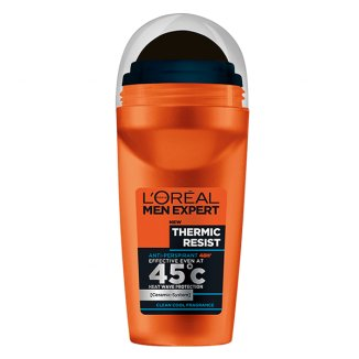 L'Oreal Men Expert, Thermic Resist, antyperspirant roll-on, 50 ml - zdjęcie produktu