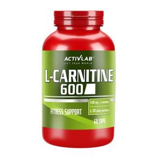 ActivLab L-Carnitine 600, 60 kapsułek - zdjęcie produktu