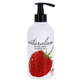 Naturalium Fruit, mleczko do ciała, malina, 370 ml - zdjęcie produktu