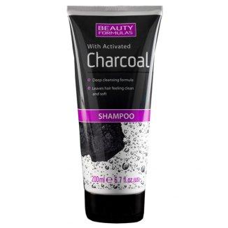 Beauty Formulas Charcoal, szampon głęboko oczyszczający z aktywnym węglem, 200 ml - zdjęcie produktu