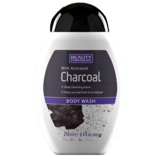 Beauty Formulas, żel do mycia ciała z aktywnym węglem, 250 ml - zdjęcie produktu